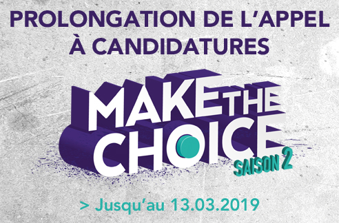Prolongation de l'appel à candidatures !