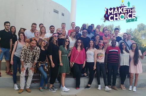 #Makethechoice ➜ Immersion et accélération à thecamp