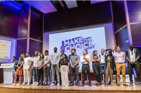 Découvrez les noms des lauréats «Make the Choice» saison 2 !
