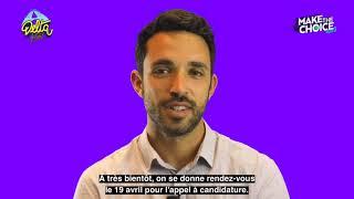 Le parrain de «Make the choice» saison 3 : Matthieu Predal, co-fondateur du Delta Festival